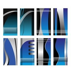 Abstract business background banner vector image