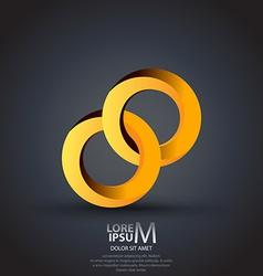 Circles logo vector