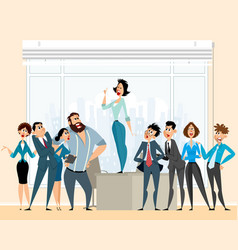 debate in business vector image