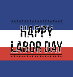 Happy labor day collection background vector