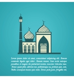Religion mosque vector