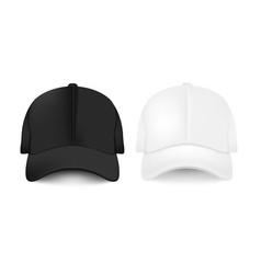 Baseball cap collection vector