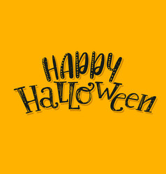 Halloween abstract logo vector