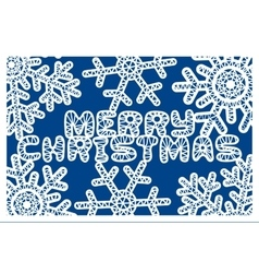 snowflakes for laser cutting vector image