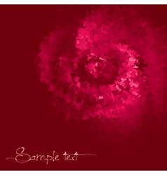 Rose colored ink background vector