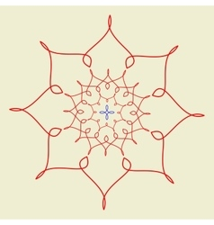 Arabic pattern geometry pattern in vector
