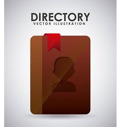 directory icon vector image