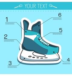 Flat sport skating background concept desig vector