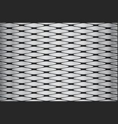 metallic geometric pattern vector image