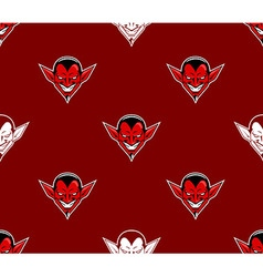 Devil head pattern vector