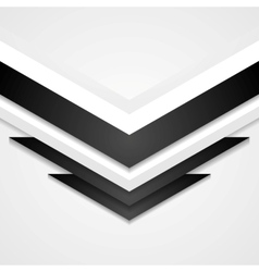 Abstract corporate background with arrows elements vector