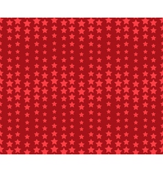 Seamless wavy red holiday pattern with stars vector