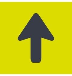 Upload arrow design vector