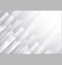 White and gray color abstract geometric vector