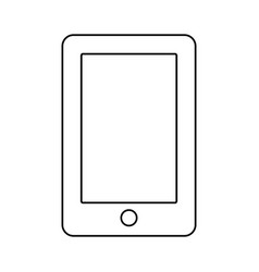 Smartphone phone technology vector