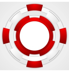 Vibrant corporate tech circles background vector