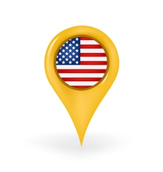 Location America vector image