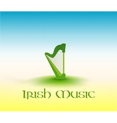 Irish music vector