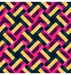 Abstract geometric background with multicolor vector image vector image