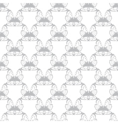 Gray abstract butterfly wing seamless vector