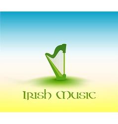 Irish music vector
