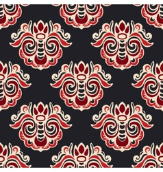 Luxury royal seamless pattern damask vector