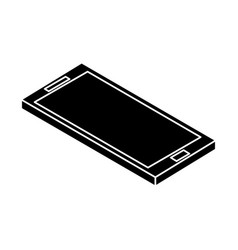 Smartphone device isometric icon vector