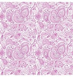 Beautiful paisley seamless vector image