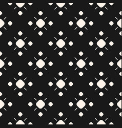monochrome ornamental seamless pattern vector image