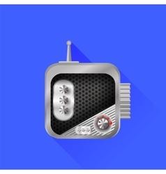 Radio icon vector