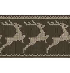 deers border vector image