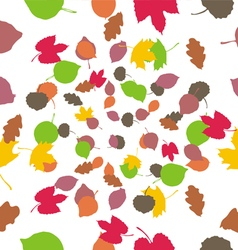 Texture leaves vector