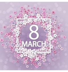 Women day background vector image