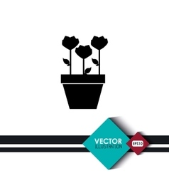 Flower icon design vector