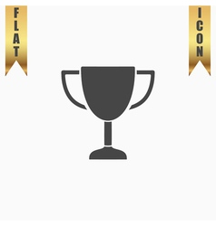 business and finance icon trophy vector image vector image