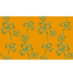 Clover Pattern2 vector image vector image