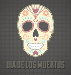 Day of the Dead Card and Wallpaper vector image vector image