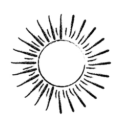 Sun burst light vector