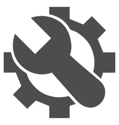 Tech maintenance flat icon vector