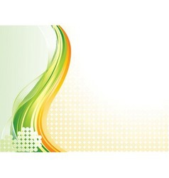 Wave pattern background vector image