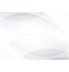 white and gray abstract background with copy vector image vector image