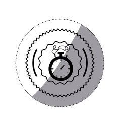 Isolated chronometer design vector