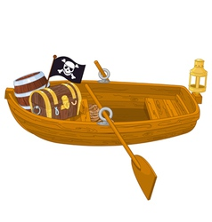 Rowboat vector image