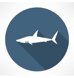 Shark Icon vector image