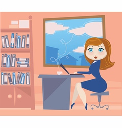Business doll vector
