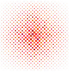 Colored dot pattern - geometric graphic design vector