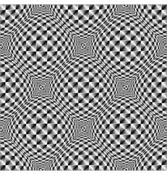 Design seamless warped diamond trellised pattern vector