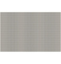 The pattern of the black dashed vertical stripes vector image vector image
