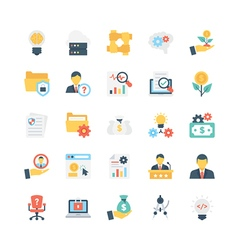 Business icons 10 vector