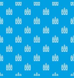Cartridges pattern seamless blue vector